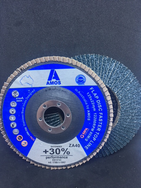 Flap Wheel With Shank Zirconia 80 Grit